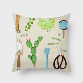 Day 02 - Make your own balcony with succulents B - Home Decor Home Decor Pillow Interior Decoration Pillow Lunch Break Gift - Pony Pei