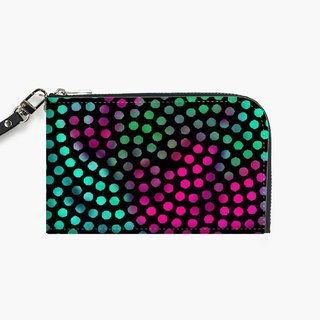 Snupped Isotope - Phone Pouch - Circle Dots III