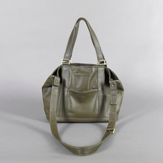 Passion small handbag moss green portable / shoulder / oblique back