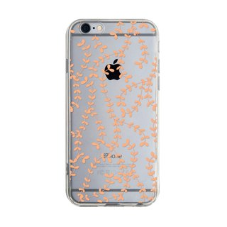 Orange leaves Samsung S5 S6 S7 note4 note5 iPhone 5 5s 6 6s 6 plus 7 7 plus ASUS HTC m9 Sony LG G4 G5 v10 phone shell mobile phone sets phone shell phone case
