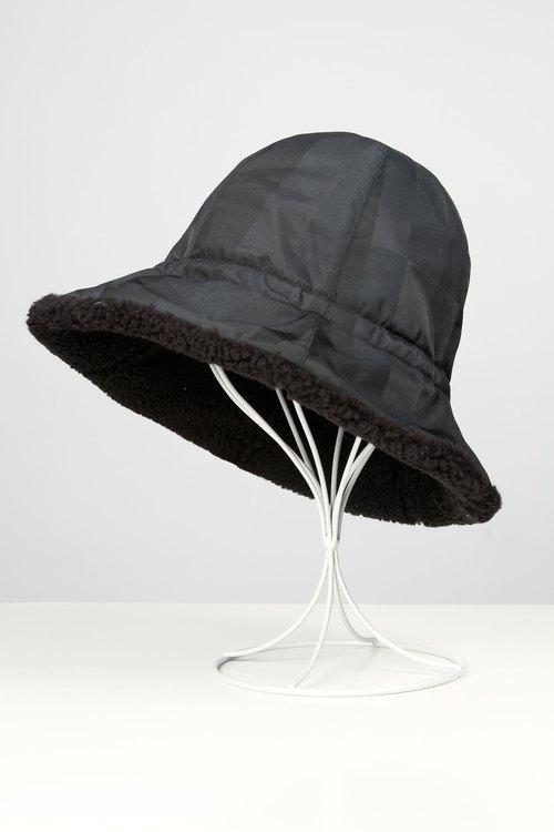 d2fd2810b8b Waterproof storage fluff fisherman hat - Black Check - Designer BREEZI  ISLAND