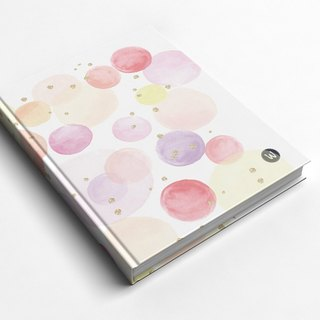 ☆ ° Rococo Strawberries WELKIN Handmade Crafts / Notebook / Hand / Diary - Sweet Pink Bubble Graduation Gifts