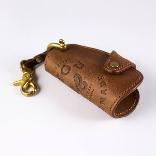 HEYOU handmade - Leather Key Holder Leather Key Holder - Coffee