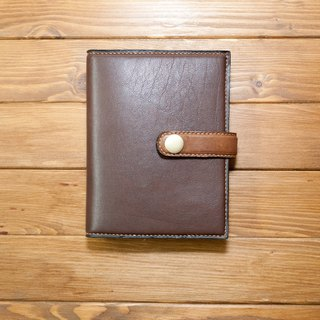 Dreamstation leather Pao Institute, Italy Senior skinned cow + vegetable tanned leather handmade passport holder