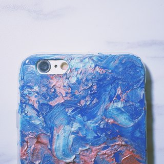 Experimental series ll Purity ll hand-painted oil painting mobile phone case