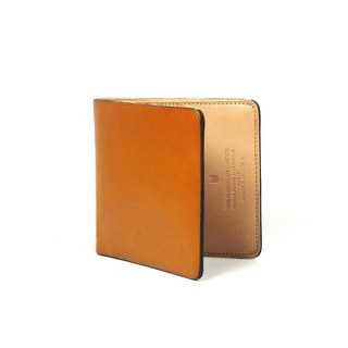 Square bifold wallet /Laterite TAN