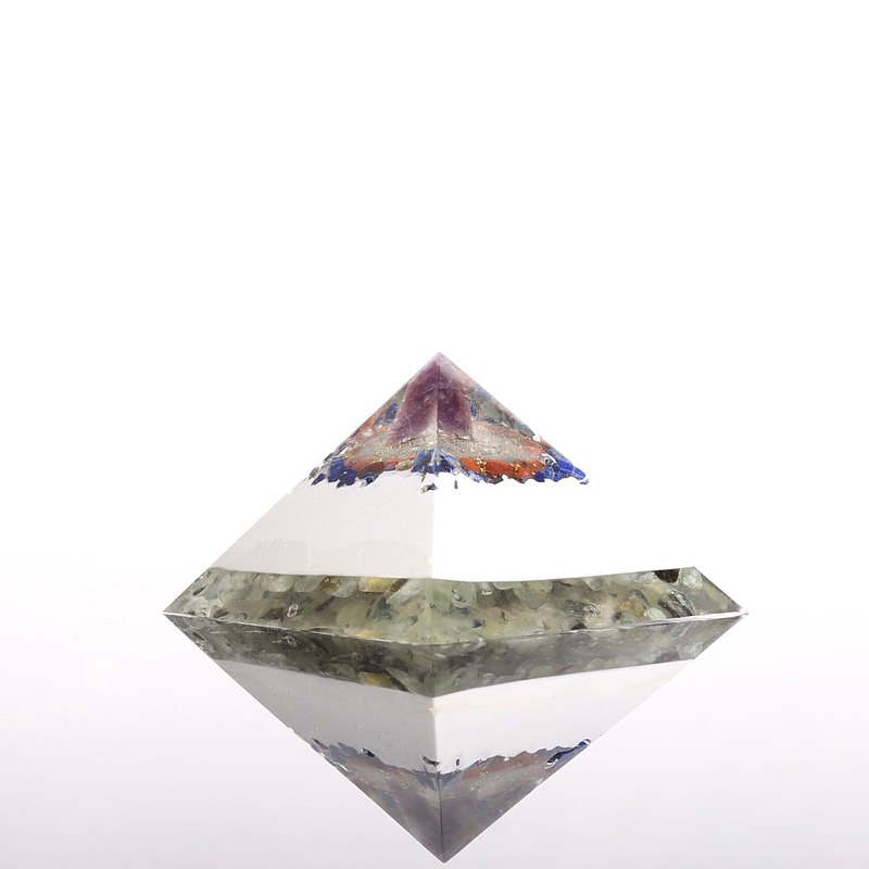 Top of Wisdom-Orgonite Crystal Ore in the Super Pyramid