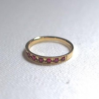 K14 ring of ruby