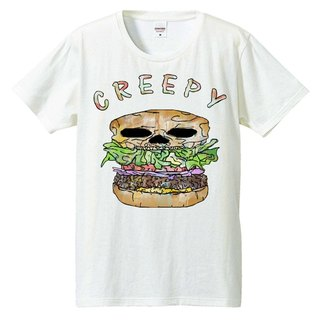 [T-shirt] Creepy hamburger