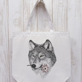 ronronWOLF Here you go Go Outdoor Tote (Natural) / RPB005