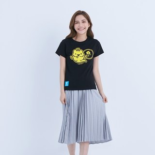 LAZYMARU-LM001531 Small Protection Law 6th Anniversary T-Shirt (Black) Law Fighting Couples Taiwanese Wenchuang