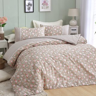 Large [fall in love with rural bed bag] Flora dual-use bedding package four sets of king size