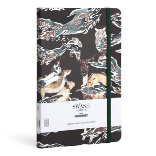 FASHIONARY x Swash London co-branded notebook / A5/ Candy Camo