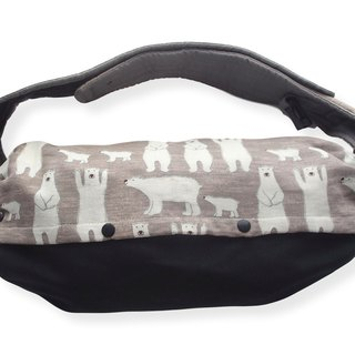 Baby Carrier Bag, Storage for Ergo baby, Lillebaby, Polar Bear, Japanese Cotton