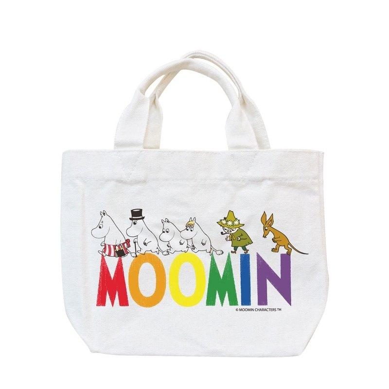 Moomin嚕嚕米授權-小托特包【Happy Family】,AE05