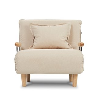 AJ2 │ Otto │ petal beige │ single sofa bed