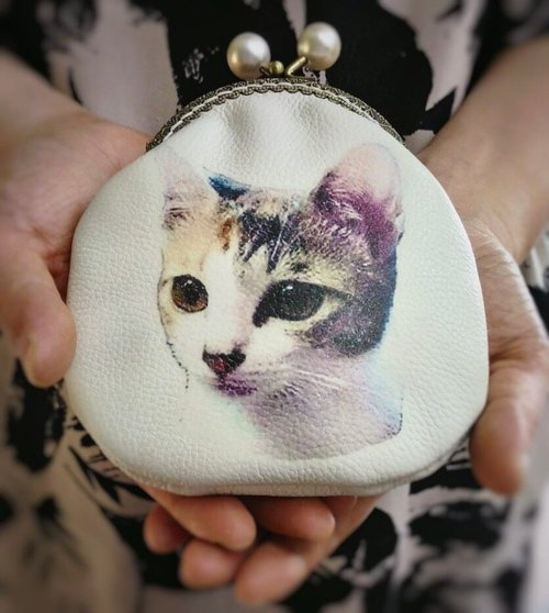 【MY。手作】Custom Photo wallet, for gift, personalized coin purse with photo of your pets