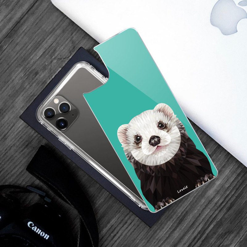 [High Gauge-Extremely Anti-Yellow Air Combat Armor] Mobile Phone Case-Marten (Big Face)