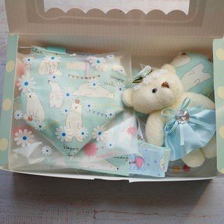 Bear Moon Gift Box to appease towel Pacifier Organizer Bear Doll