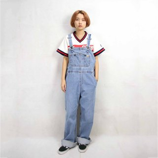 Tsubasa.Y Antique House Carhartt Brand Denim Suspenders 005, Denim Suspenders