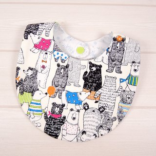 Bibs Bib - fairy Bear (meters)