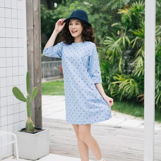 Women A line Dress with sleeve pockets dress casual dress for summer and working