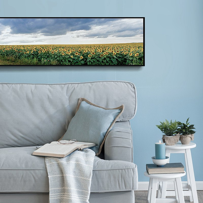 Sunflowers-Wall Art, Home Decor, Wall Prints, Spring, Sunflowers, Scene, Hostel