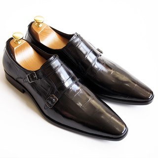 [LMdH] cooperation paragraph S1B01-99 LMdH x STERLING & Co.: Munch shoe leather bottom - Black - Free Shipping