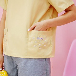 Molly (Romantic Lover) Top : Yellow