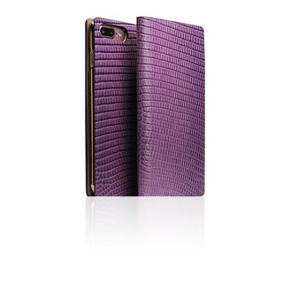 SLG Design iPhone 8 / 7 Plus D3 ILL Classic Lizard Leather Holster - Purple
