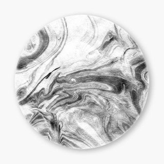 Snupped Ceramic Coaster - Marble II