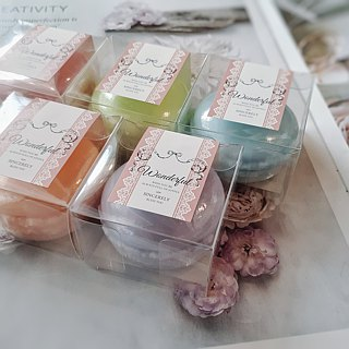 Vera Handmade Macarons Fragrance Soap 1 Packing/Exchanging Gifts/ Corporate Gifts/Wedding Accessories