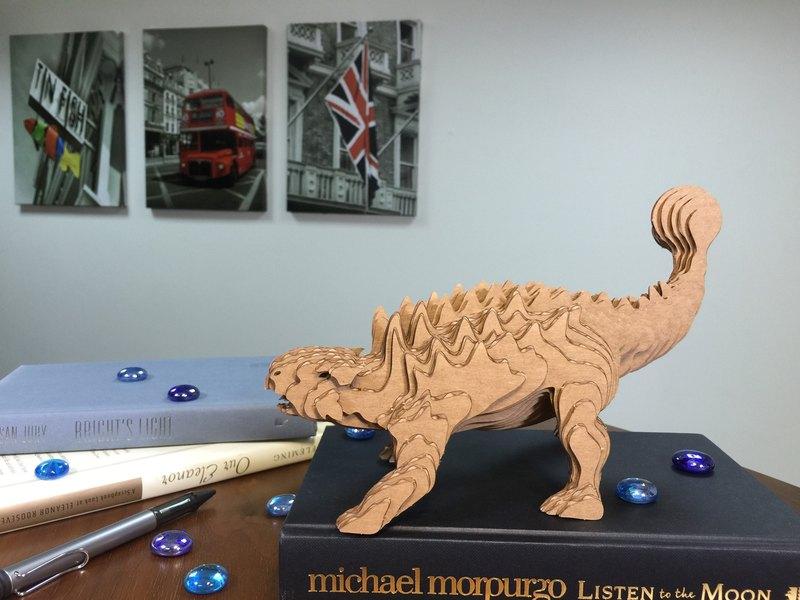 Contamo手作模型DIY材料包  恐龍系列-甲龍-大