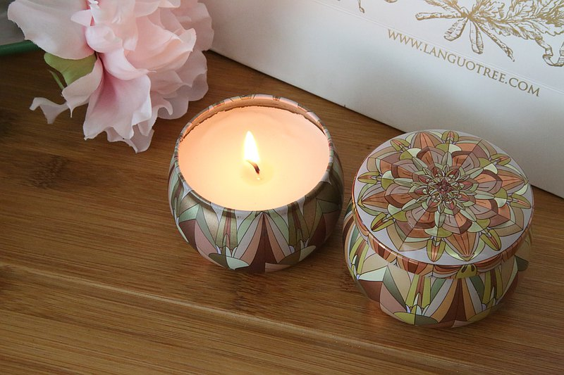 Mandala精油大豆蠟燭-曙光