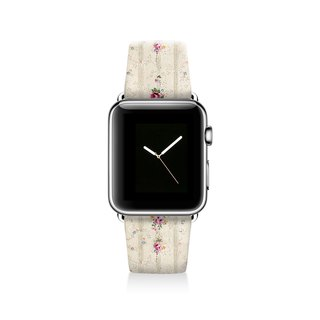 Floral Apple watch band, Decouart Apple watch strap S013 (including adapter)