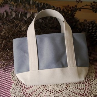 Classic Tote Bag Ssize gray x kinari - Gray x Native White -