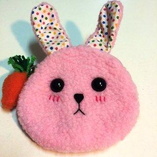 RABBIT LULU 【Rabbit Coin Purse】 Creative market dedicated Rabbit slave