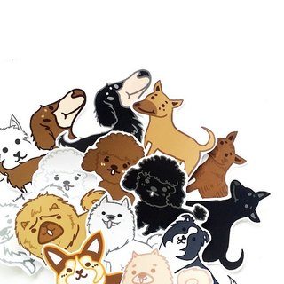 1212 play design fun funny stickers everywhere - Dog Encyclopedia 2.0