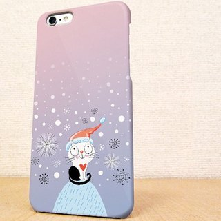 送料無料☆iPhone case GALAXY case ☆氷山の一猫 phone case