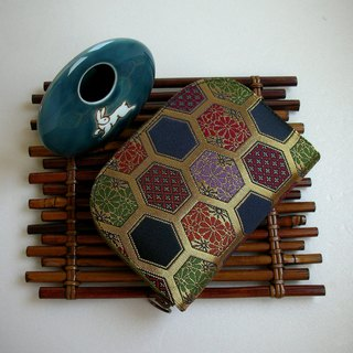 "Jingxi Array Jin Jin Jin Weaving ""Small Handed Tortoise"" - Short Clip / Wallet / Coin Purse / Gift - Last"