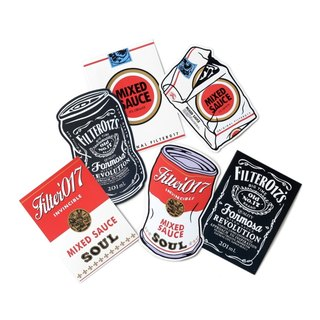 Filter017 Classic Pack Sticker Set 經典包裝貼紙組