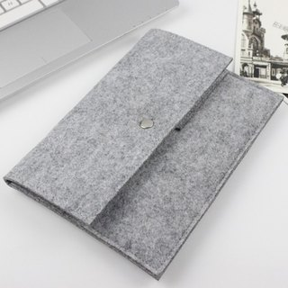 Original handmade light gray felt Microsoft computer protective cover blanket sets of laptop bags Bundle 4 case type cover type cover cover cover (can be tailored) - 022