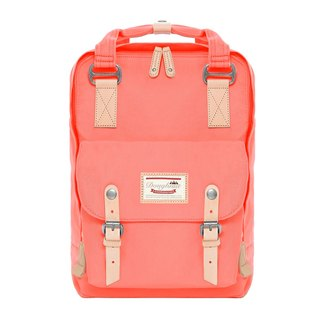 Doughnut Waterproof Macaron Backpack - Peach Orange