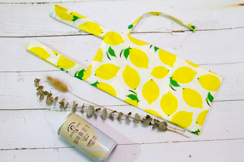 【Gi LAI】環保飲料/食物提袋 -夏日檸檬