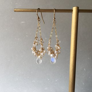 Handmade earrings dream wedding