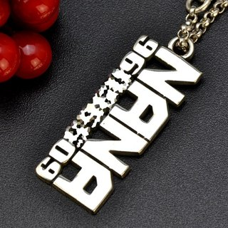 Customized .925 sterling silver name pendant dog jewelry PD00013-