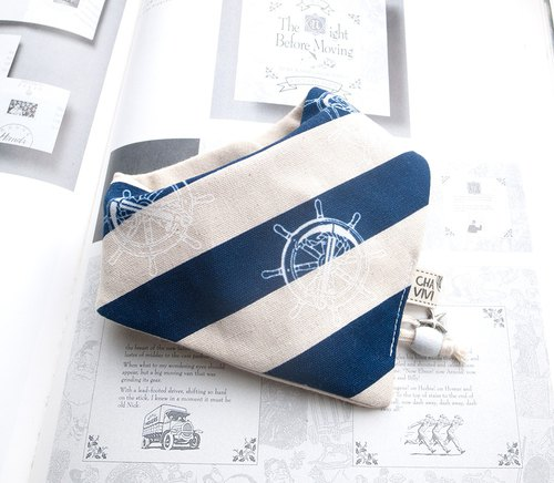 For Dear the child navy wind scarf