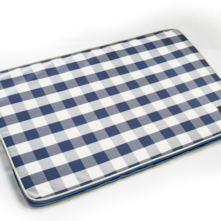 Lifeapp Sleeping Pad Replacement Cloth --- L_W110xD70xH5cm (Blue and White) does not contain sleeping mats