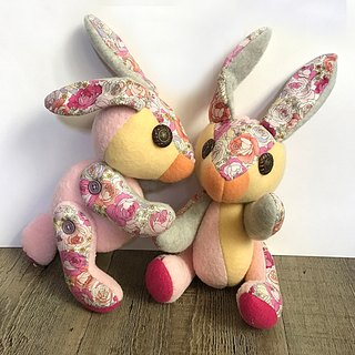 POPO │ Alice Rabbit │ Twins - Handmade