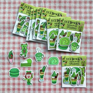 Matcha hard to find wan / sticker set